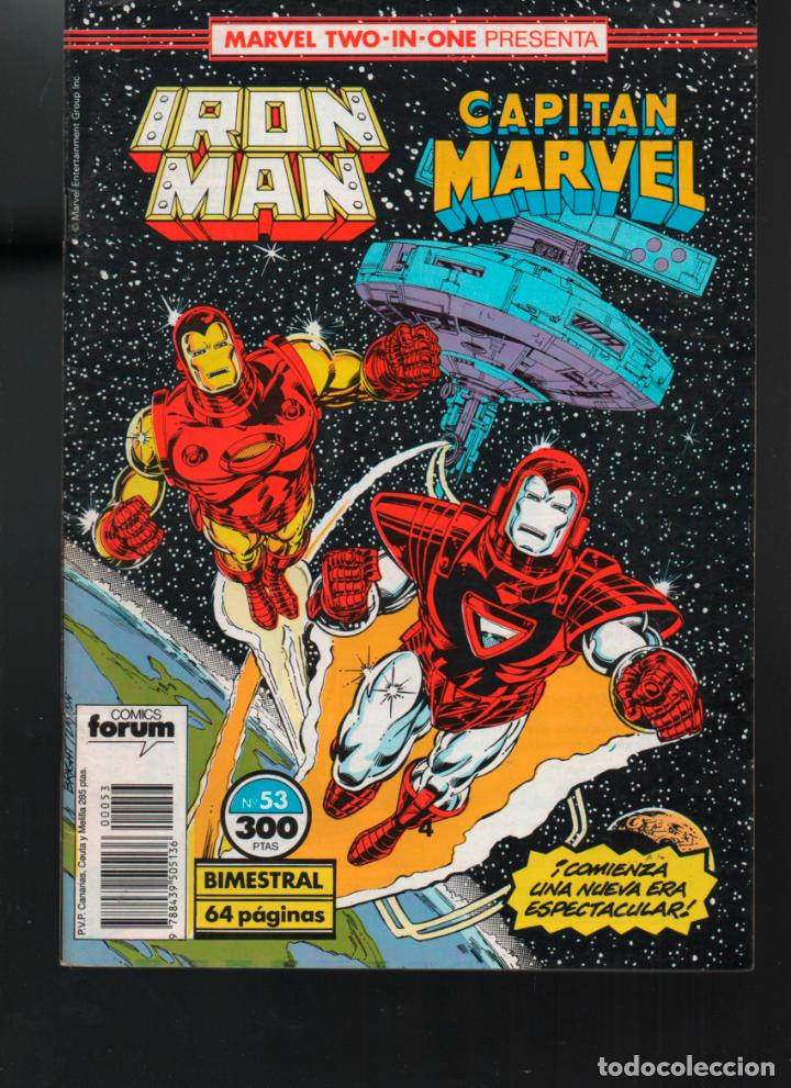 MARVEL TWO IN ONE IRON MAN CAPITAN MARVEL Nº 53 FORUM (Comics und Tebeos - Forum - Andere Forum)