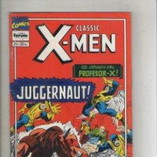 Cómics: CLASSIC X-MEN-VOL. 2-FORUM-AÑO 1994-COLOR-FORMATO GRAPA-Nº 6-EL TRIUNFO DE MAGNETO. Lote 155779390