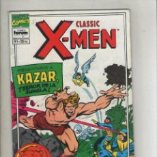 Cómics: CLASSIC X-MEN-VOL. 2-FORUM-AÑO 1994-COLOR-FORMATO GRAPA-Nº 5-APARECEN LOS VENGADORES. Lote 155779998