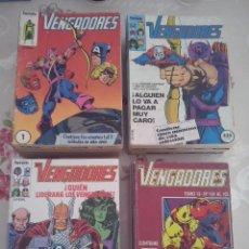 Cómics: FORUM - VENGADORES VOL.1 COMPLETA EN TOMOS RETAPADOS (132 NUM.MAS 8 ESPECIALES + TOMO MARVEL HEROES). Lote 155843522