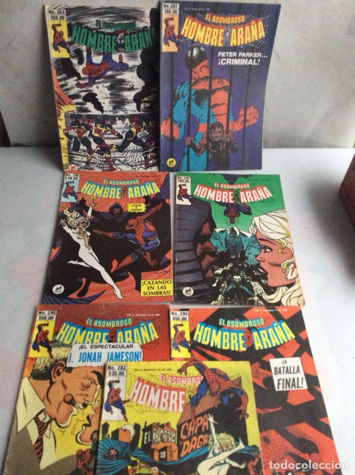 EL ASOMBROSO SPIDERMAN - HOMBRE ARAÑA , LOTE DE 7 EJEMPLARES -EDITADOS : MEXICO AÑOS 80 (Tebeos y Comics - Forum - Spiderman)