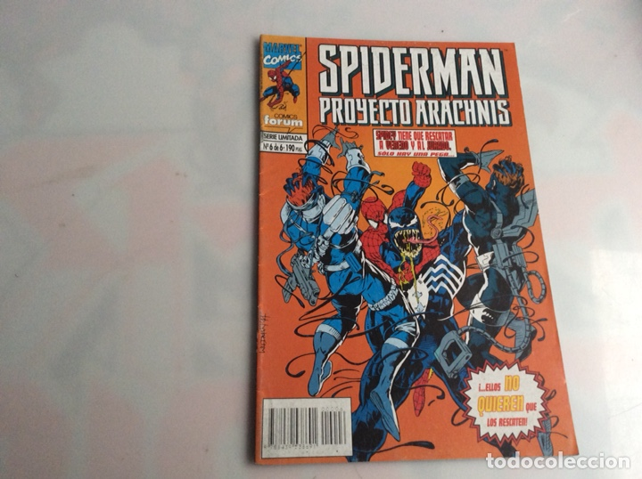 SPIDERMAN PROYECTO ARACNHNIS Nº 6 -EDITA : FORUM (Tebeos y Comics - Forum - Spiderman)