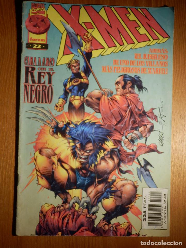 COMIC - X-MEN - CARA A CARA CON EL REY NEGRO - VOLUMEN 2 - Nº 22 - FORUM - (Tebeos y Comics - Forum - X-Men)