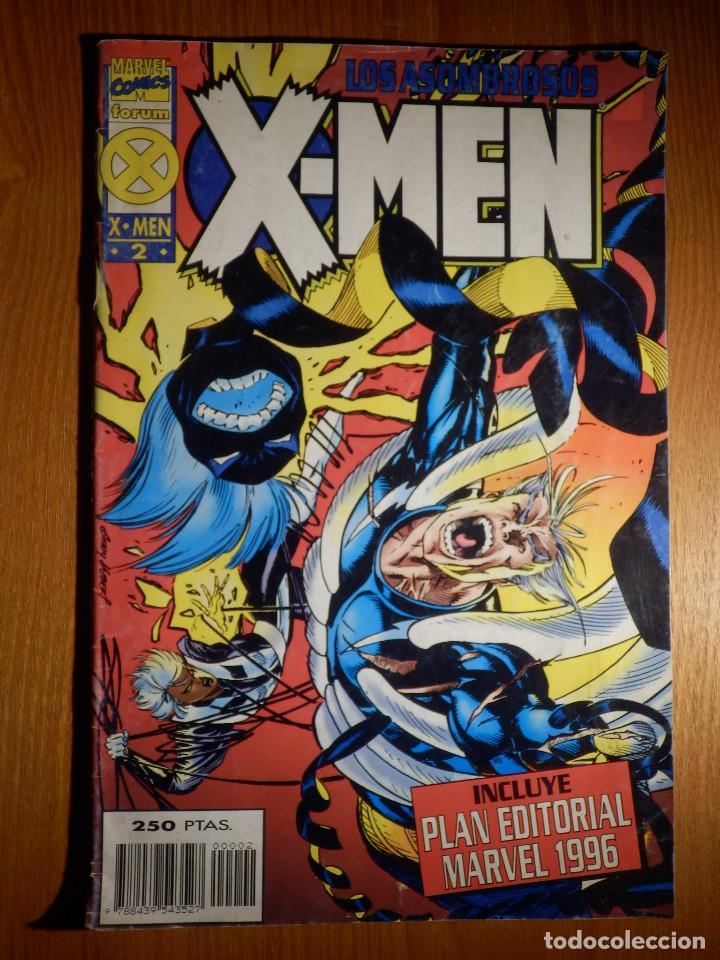 COMIC - LOS ASOMBROSOS X-MEN - Nº 2 - FORUM - (Tebeos y Comics - Forum - X-Men)