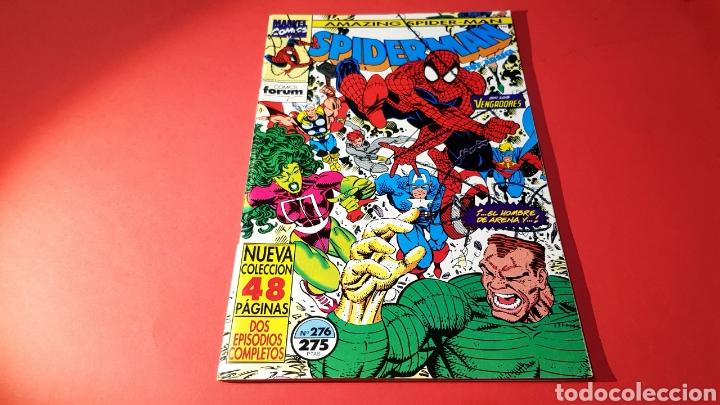 CASI EXCELENTE ESTADO SPIDERMAN 276 FORUM (Tebeos y Comics - Forum - Spiderman)