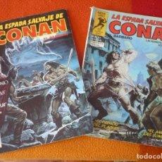 Cómics: LA ESPADA SALVAJE DE CONAN NºS 22 Y 23 SERIE ORO 1ª EDICION FORUM MARVEL. Lote 155897754