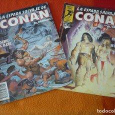 Cómics: LA ESPADA SALVAJE DE CONAN NºS 36 Y 37 SERIE ORO 1ª EDICION FORUM MARVEL. Lote 155897998