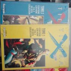 Cómics: TIERRA X COMPLETA EN 3 TOMOS #. Lote 155911802