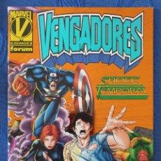 Cómics: VENGADORES SHOCK TEMPORAL ESPECIAL DEL VOL. 2 DE VENGADORES - FORUM. Lote 155925033