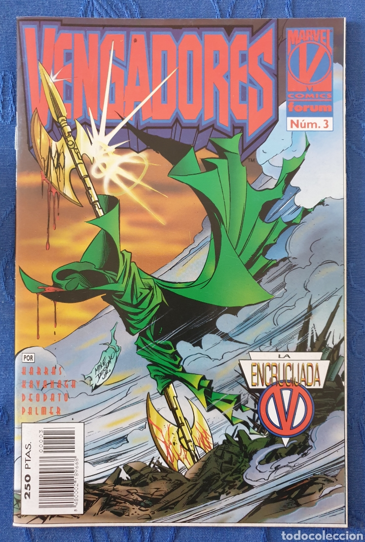 VENGADORES VOL. 2 N° 3 LA ENCRUCIJADA - FORUM (Tebeos y Comics - Forum - Vengadores)