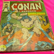 Cómics: CONAN EL BARBARO Nº.7, MUERTE ENTRE LAS RUINAS Y LA SERPIENTE EMPLUMADA, DEL 1983.. Lote 155930906