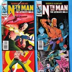 Cómics: NTH MAN THE ULTIMATE NINJA - 1, 2, 3, 4, 5 Y 6 - FORUM 1989 ''BUEN ESTADO'' (VER 10 FOTOS). Lote 155934538