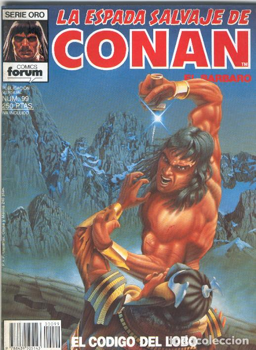 LA ESPADA SALVAJE DE CONAN. 1ª EDICIÓN Nº 99 (Tebeos y Comics - Forum - Conan)
