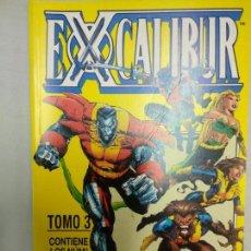 Cómics: EXCALIBUR TOMO 3 EXCELENTE ESTADO FORUM RETAPADO. Lote 155962182