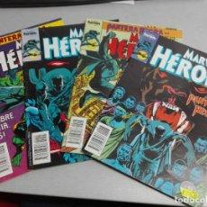 Cómics: MARVEL HÉROES Nº 43, 44, 45, 46 PANTERA NEGRA / COMPLETO / FORUM. Lote 155973562