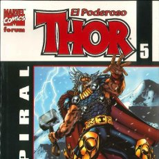 Cómics: EL PODEROSO THOR NÚMERO 5 ESPIRAL CÓMICS FÓRUM MARVEL. Lote 155976502