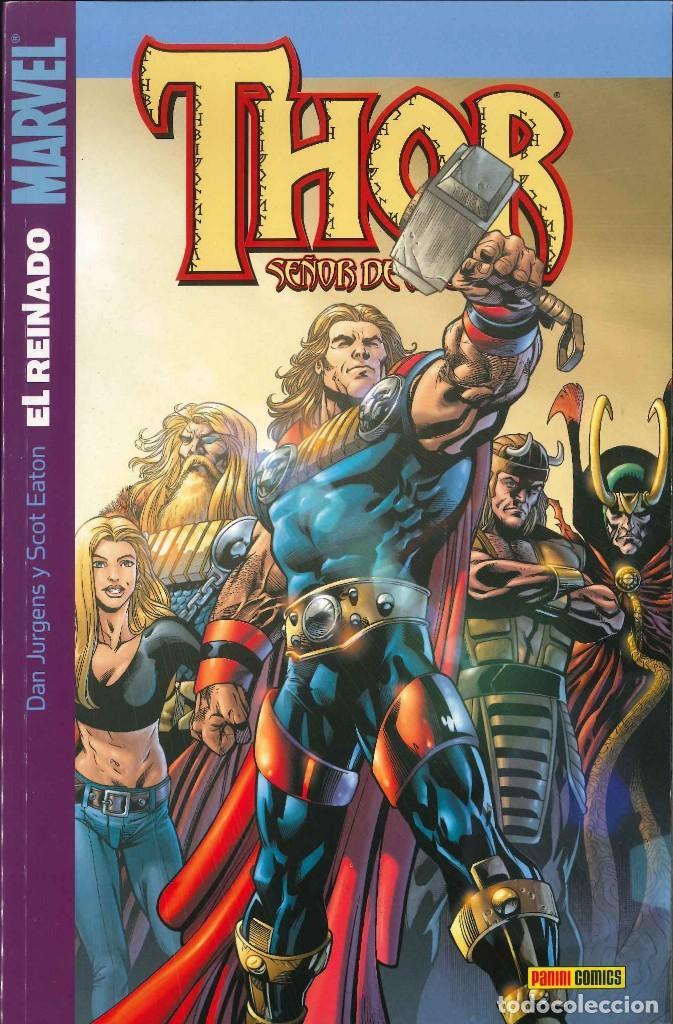 THOR SEÑOR DE ASGARD NÚMERO 8 EL REINADO CÓMICS FÓRUM MARVEL (Tebeos y Comics - Forum - Thor)