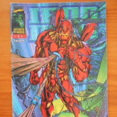 Cómics: IRON MAN Nº 1 - HEROES REBORN - MARVEL - FORUM (FF). Lote 156048198