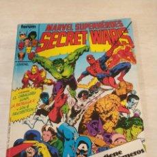 Cómics: SECRET WARS. NÚMEROS 1 A 5. . Lote 156161122
