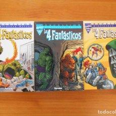 Cómics: LOS 4 FANTASTICOS Nº 1 A 3 - Nº 01, 02 Y 03 - BIBLIOTECA MARVEL EXCELSIOR - FORUM (Z). Lote 156481302