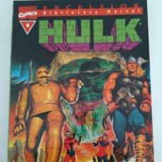 Cómics: COMIC HULK BIBLIOTECA MARVEL N°4. Lote 156490289