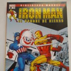 Cómics: COMIC IRON MAN BIBLIOTECA MARVEL N°3. Lote 156492400