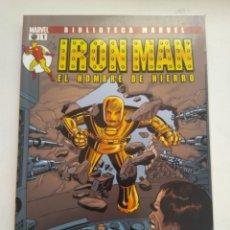 Cómics: CÓMIC IRON MAN BIBLIOTECA MARVEL N°1. Lote 156492710