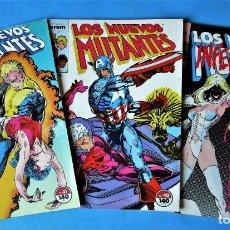 Cómics: LOS NUEVOS MUTANTES Nº 39, 40 Y 41 - FORUM 1990 (VER FOTOS). Lote 156508130