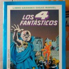Cómics: LIBRO GRANDES SAGAS MARVEL NÚM. 21. LOS 4 FANTÁSTICOS (2). ÚLTIMO ASALTO. 1995. Lote 156538114