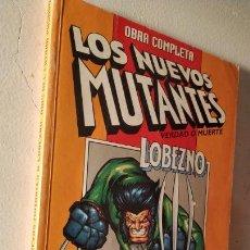 Cómics: OBRA COMPLETA LOS NUEVOS MUTANTES VERDAD O MUERTE LOBEZNO DE FORUM. Lote 156559561