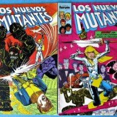 Cómics: LOS NUEVOS MUTANTES Nº 35 Y 36 - FORUM 1990 (VER FOTOS) . Lote 156567634
