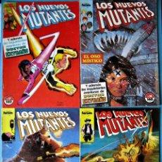 Cómics: LOS NUEVOS MUTANTES Nº 17, 18, 19 Y 20 - FORUM 1990 (VER FOTOS) ''BUEN ESTADO''. Lote 156568694