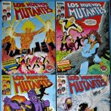Cómics: LOS NUEVOS MUTANTES Nº 12, 13, 14 Y 15 - FORUM 1990 (VER FOTOS) ''BUEN ESTADO''. Lote 156568914