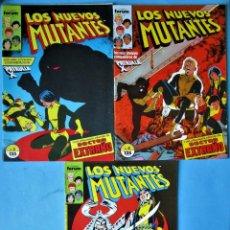 Cómics: LOS NUEVOS MUTANTES Nº 3, 4, Y 5 - FORUM 1990 (VER FOTOS) ''BUEN ESTADO''. Lote 156569462