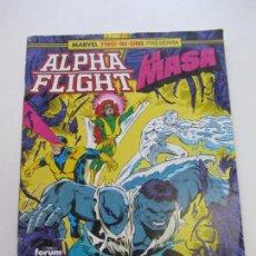 Cómics: ALPHA FLIGHT Y LA MASA Nº 53 HULK FORUM CX11. Lote 156628946