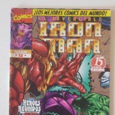 Cómics: MARVEL COMICS - HEROES REBORN IRON MAN Nº 12 FORUM LOS VENGADORES. Lote 156636830