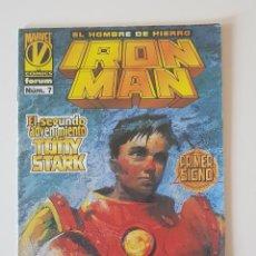 Cómics: MARVEL COMICS - IRON MAN VOL. 3 Nº 7 FORUM LOS VENGADORES. Lote 156636942