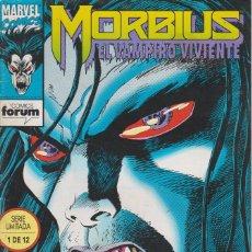 Cómics: MORBIUS EL VAMPIRO VIVIENTE Nº 1 FORUM COMICS 1993. Lote 156642718