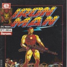 Cómics: IRON MAN CRASH EPIC PRESENTS Nº 1 FORUM COMICS 1992. Lote 156643614