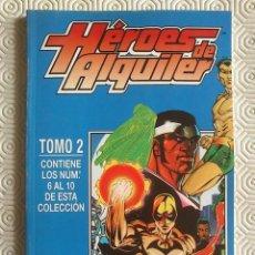 Cómics: HEROES DE ALQUILER. RETAPADO NUMEROS 6 A 10. FORUM.. Lote 156646138