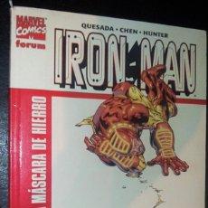 Cómics: IRON MAN : EL HOMBRE DE LA MÁSCARA DE HIERRO. TOMO FORUM.. Lote 177775512