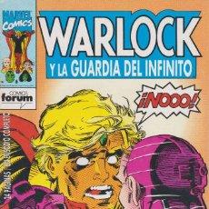 Cómics: WARLOCK Y LA GUARDIA DEL INFINITO Nº 3 COMICS FORUM 1993. Lote 156647722