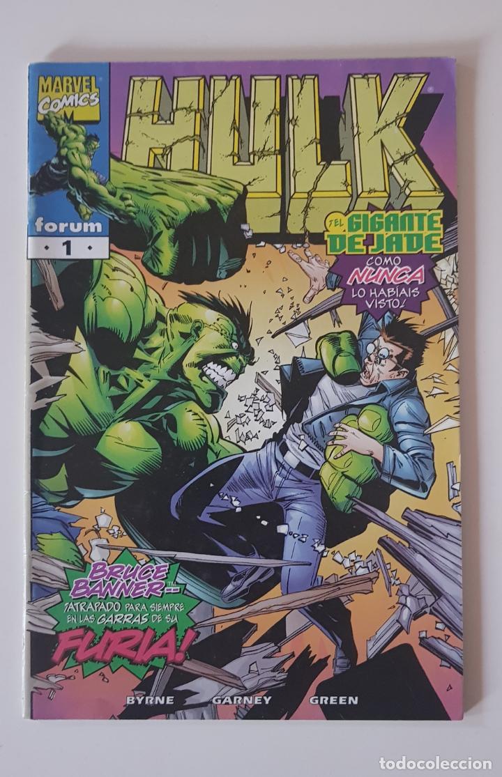 MARVEL COMICS - HULK VOL. 4 Nº 1 FORUM LOS VENGADORES LA MASA (Tebeos y Comics - Forum - Hulk)