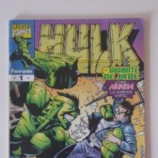 Cómics: MARVEL COMICS - HULK VOL. 4 Nº 1 FORUM LOS VENGADORES LA MASA. Lote 156648734