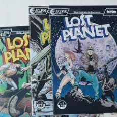 Cómics: LOST PLANET - ECLIPSE COMICS. NÚMEROS 1 AL 6 (COMPLETA) - BO HAMPTON. Lote 156656934