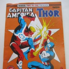 Cómics: MARVEL TWO IN ONE: CAPITÁN AMÉRICA Y THOR Nº 67, FORUM CX11. Lote 156677150
