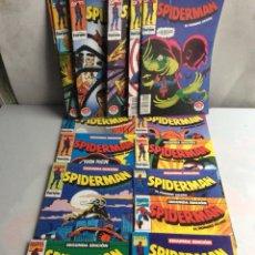 Cómics: SPIDERMAN SEGUNDA EDICION, LOTE DE 15 EJEMPLARES. - FORUM. Lote 107654459