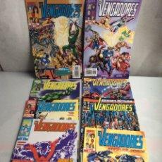 Cómics: VENGADORES VOL 3 , LOTE 10 EJEMPLARES Nº 1, 2, 3, 4, 16, 17, 18, 38, 39, 42, -EDITA: FORUM. Lote 38274915