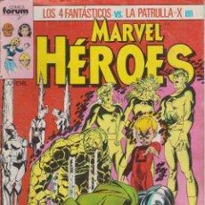 Cómics: LOS 4 FANTÁSTICOS VS. LA PATRULLA-X EN MARVEL HÉROES. Lote 156755450