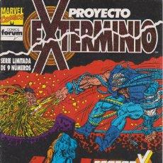 Cómics: PROYECTO EXTERMINIO. FACTOR X Nº 6 COMICS FORUM 1992. Lote 156762238
